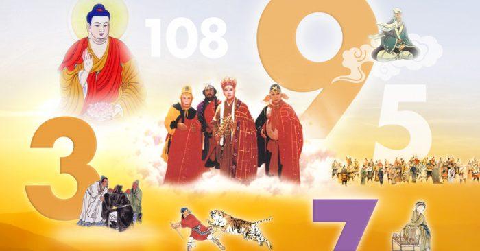 Những con số bí ẩn trong Phật gia, Đạo gia và Tứ đại danh tác