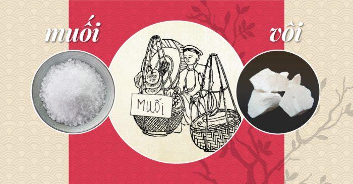 Tại sao người Việt đầu năm mua muối, cuối năm mua vôi?